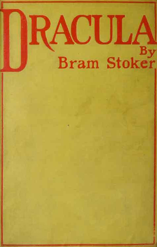 Dracula UK Book Cover