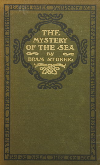 The Mystery of the Sea US Book Cover