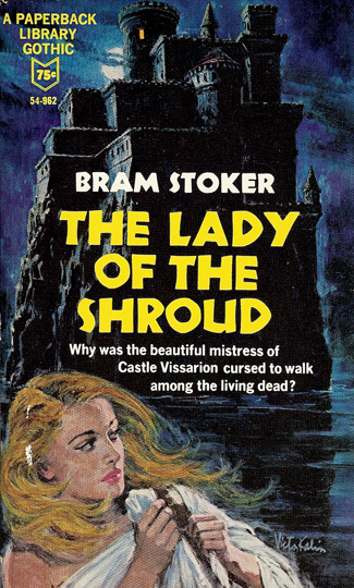 The Lady of the Shroud US Book Cover