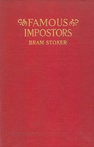 Famous Impostors US Book Cover