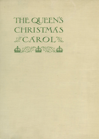 The Queen's Christmas Carol UK Book Cover