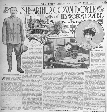 The Daily Chronicle, February 14, 1908