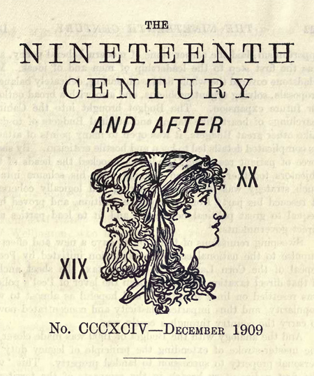 The Nineteenth Century and After, December 1909