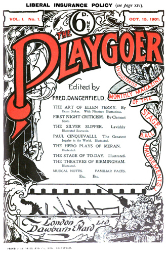 The Playgoer, October 15, 1901