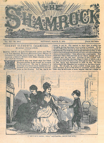 The Shamrock, March 13, 1875
